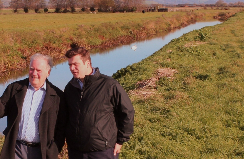 MP AND COUNCILLOR ENCOURAGES GREATER FLOOD AWARENESS