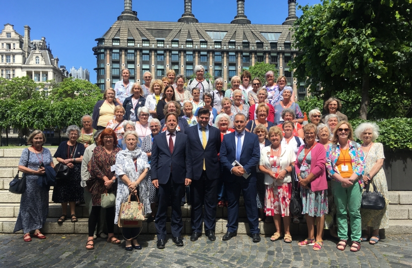 MPs with the WI